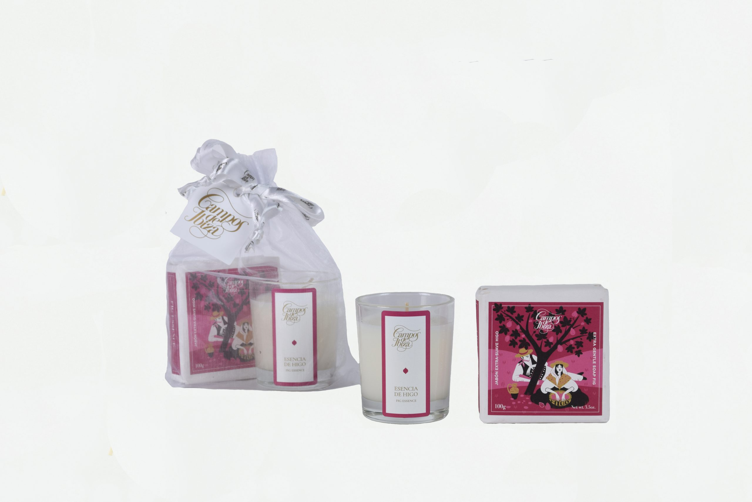 SET CANDLE 75 GR WITH SOAP 100 GR