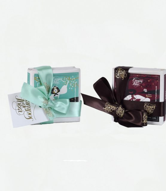 SOAP WITH SILK CORDON & PERSONALIZED CARD